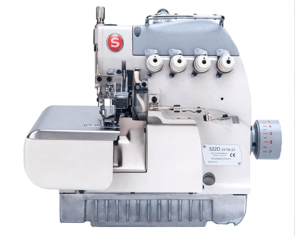 Partes De La Maquina De Coser Overlock Industrial - Cosas
