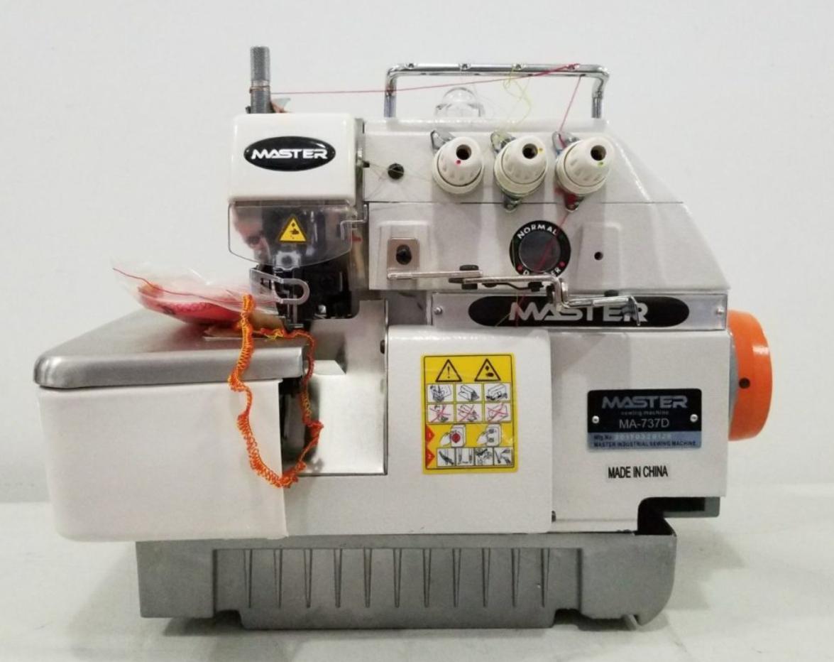 Remalladora de 3 hilos para uso doméstico