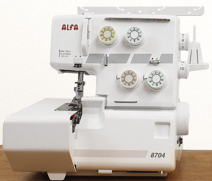 Overlock remalladora Alfa 8704