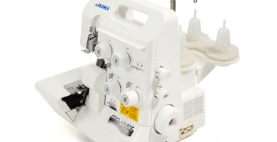 Remalladora overlock Juki-MO654DE